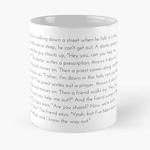 The West Wing Leo Mcgarry Leos Speech - Coffee Mug 11 Oz Funny Gift