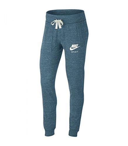 Nike Damen Trainingshose Gym Vintage Pants Blau (noise aqua / sail)