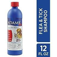 Adams Plus Flea and Tick Shampoo with Precor, 12 Ounce