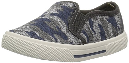 Image of carter's Boys' Damon7 Print Casual Loafer, Camo, 9 M US Toddler