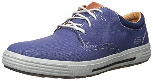 Skechers Usa Mens Porter Zevelo Oxford Blue