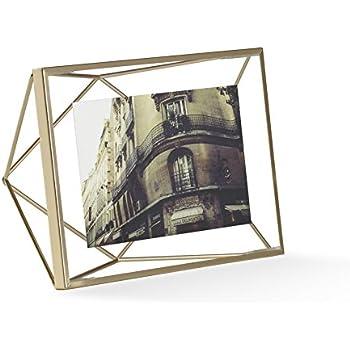 Amazon.com - Umbra Prisma Picture Frame, 4 by 6-Inch, Matte Brass -