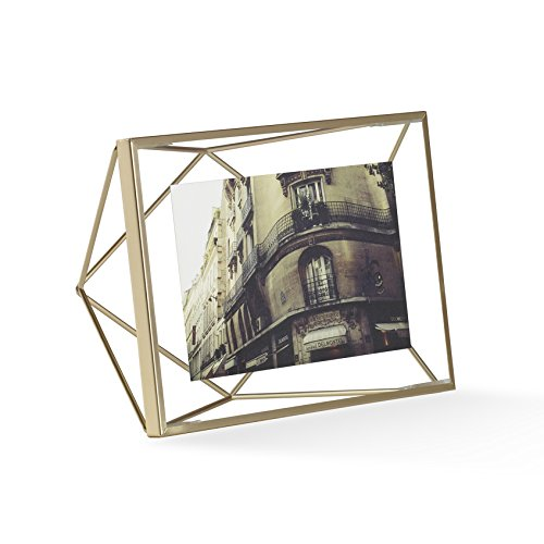 Umbra Prisma Picture Frame, 4 by 6-Inch, Matte - Shapes Frame Glasses