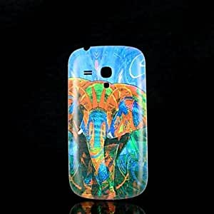 HJZ Samsung S3 Mini I8190N compatible Graphic/Special Design Plastic Back Cover