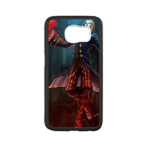 Samsung Galaxy S6 Cell Phone Case White League of Legends Marquis Vladimir LOL-STYLE-0384
