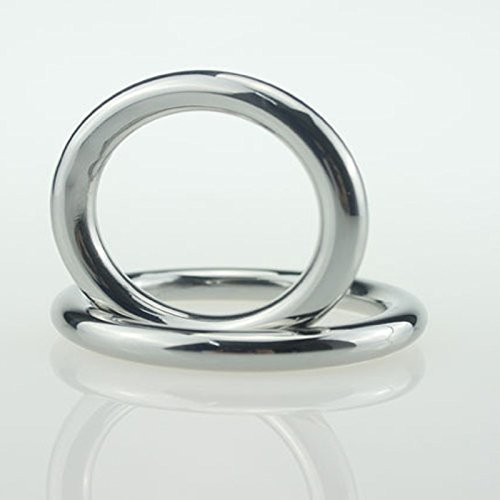 Louz ACT 40/45/50mm erotic toys for men stainless steel chastity belt Extend ejaculation penis ring adult sex toys cock ring