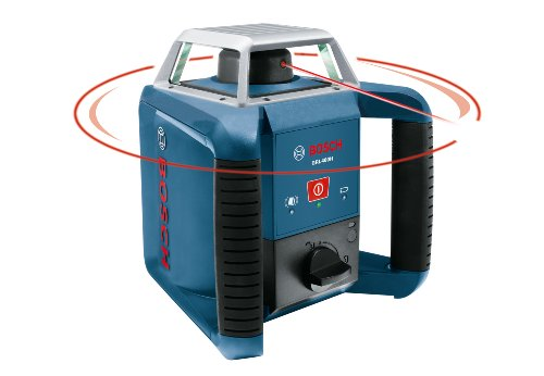 Bosch Self-Leveling Rotary Laser with Laser Receiver GRL 400 H