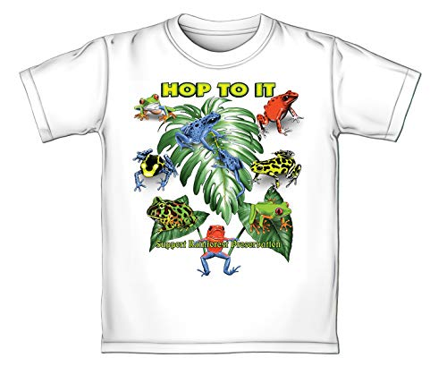 (Rain Forest Frogs Color Changing Adult Tee Shirt (Adult Medium))