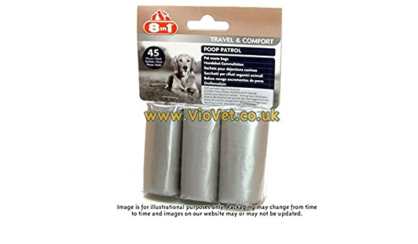 Amazon.com : Eignt In One Poop Patrol 3 Refill Bags : Pet ...