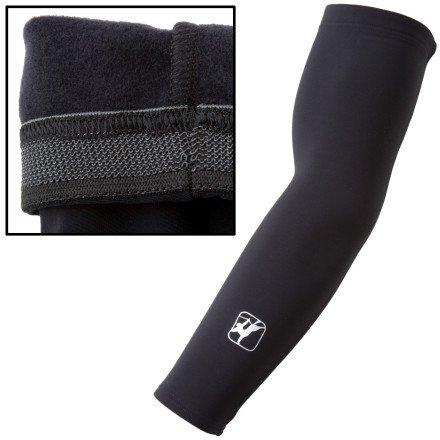 Giordana Super Roubaix Arm Warmers Black, M