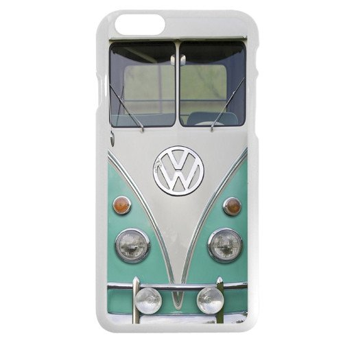 "UniqueBox Customized White Hard Plastic VW Minibus iPhone 6 4.7 Case, Only fit iPhone 6 4.7"""