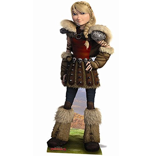 How To Train Your Dragon Life Size Cutout of Astrid by How to Train Your Dragon