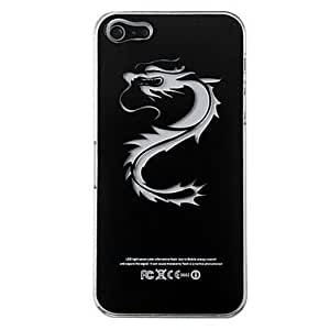 HP DFNew Sense Chinese Dragon Flash Light LCD LED Color Changing Hard Case for iPhone 5