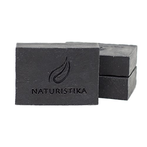 Activated Charcoal Soap Bar (3 Pack), Vegan and All Natural Handcrafted with Organic Oils. Face and Body Soap. For Men, Women and Teens. Unscented. (Best Acne Products In South Africa)