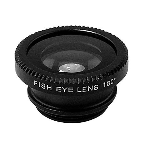 Wide Angle Lens/—Black(Right) DGD 3-in-1 Multifunctional Phone Lens Kit Fish Lens+Macro Lens