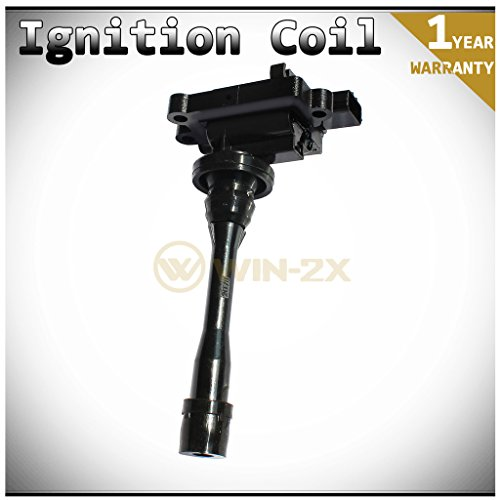 WIN-2X Set of 1 Brand New Ignition Coil on Plug Pack With Boot For Chrysler Sebring/Dodge Stratus 2-Door Coupe 2.4L Mitsubishi Eclipse Galant Lancer Mirage Outlander 1.8L 2.0L 2.4L (Mitsubishi Mirage 2 Door Coupe)