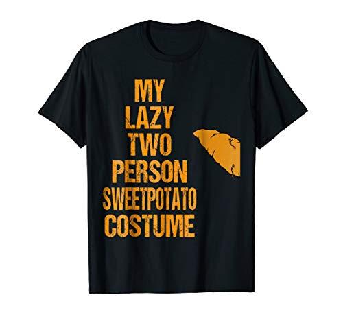 Sweet Potato 1 Matching Couple Costumes Easy Halloween Shirt for $<!--$12.99-->