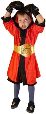 TO81 tamaño de 2-4 años Disfraz Boxer 6 piezas de vestuario ...