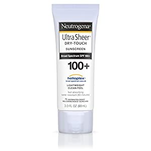 Neutrogena Ultra Sheer Dry-Touch Sunscreen, Broad Spectrum Spf 100, 3 Fl. Oz.