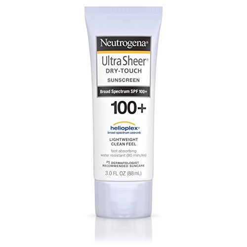 Neutrogena Ultra Sheer Dry-Touch Sunscreen, Broad Spectrum Spf 100, 3 Fl. Oz. Facial Sunscreen