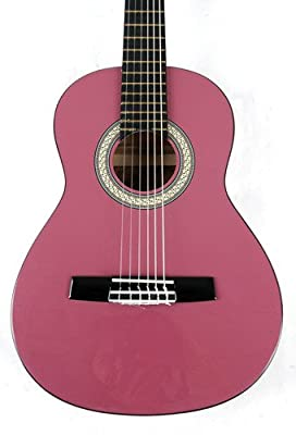 Omega CLASS KIT 1 1/2 MPN LH Left Handed Pink Acoustic Package with DVD