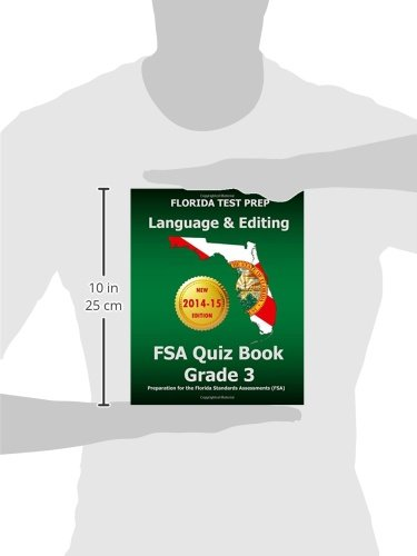 Amazon.com: FLORIDA TEST PREP Language & Editing FSA Quiz Book ...