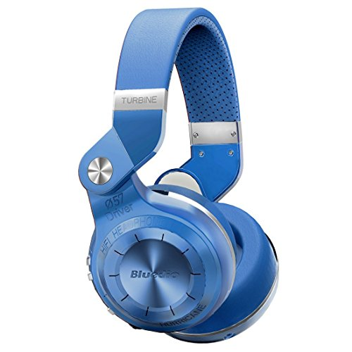 Click to buy Bluedio T2S (Turbine 2 Shooting Brake) Bluetooth Stereo Headphones Wireless Headphones Bluetooth 4.1 Headset Hurrican Series Over the Ear Headphones (blue) - From only $45