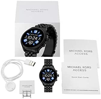 Michael Kors Access Gen 5 Lexington Smartwatch- Powered with Wear OS by way of Google with Speaker, Heart Rate, GPS, NFC, and Smartphone Notifications