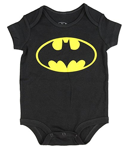 DC Comics Batman Logo Onesie Romper (12 Months, -