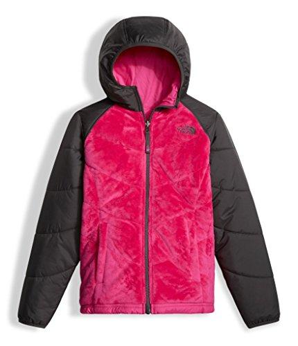 The North Face Girl's Reversible Perseus Jacket - Petticoat Pink - S (Past (Reversible Ski Jacket)