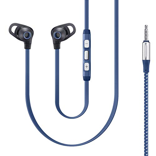 Livoty Wired in-Ear 3.5mm Earphones Stereo with Microphone Volume Control Headset Super Bass Earphone Earbuds for Cellphone