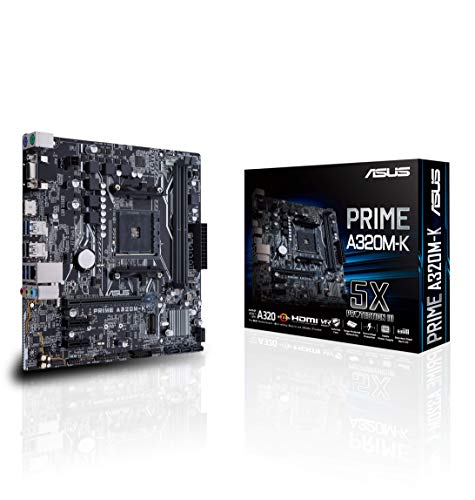 Asus AMD AM4 Prime A320M-K, 90MB0TV0-M0EAY0