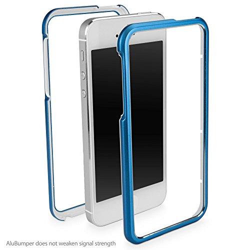 iPhone 5cas, BoxWave® [alubumper] rigide (en aluminium) Coque bumper en aluminium pour Apple iPhone 5/5S/, se,–Cosmo rose