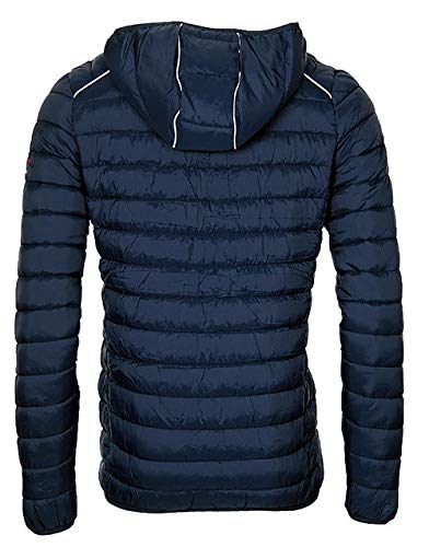 Marino Chaqueta para Hombre Geographical Norway Azul qfX8x6w