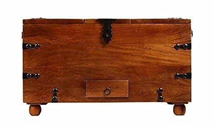 Aprodz Mango Wood Wine Storage Stylish Leonora Bar Cabinet for Living Room   Honey Finish