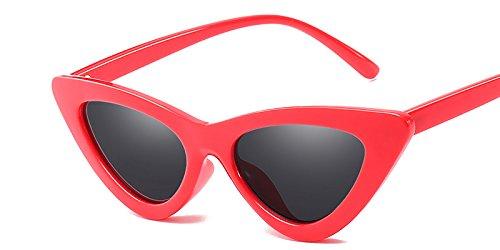Gray De Red Diseño Uv TIANLIANG04 Hembra Sol De De Sol Matices Gafas Amarillo C10 C3 Gafas Blanco Ojo Mujer Vintage Gafas Gato Gafas Sexy De Mal 8pnSq7pw4x