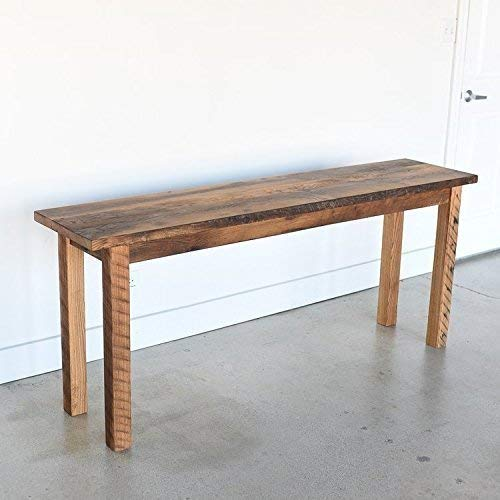 Magnificent Amazon Com Farmhouse Reclaimed Wood Console Table Handmade Ibusinesslaw Wood Chair Design Ideas Ibusinesslaworg