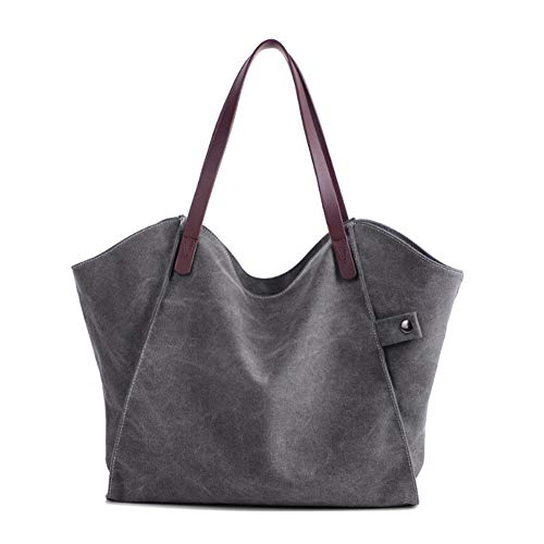 Grande A Shopper Borsetta Tela Tote Vintage Borse Casual Shopping A Donne Tracolla Borse Bag Mano YJIUJIU Per Signore zTZfxwEf