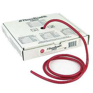 Hygienic/Theraband 21030 Professional Resistance Tube, Red, Medium, 25' Length (Pack of 6) by TheraBand (Image #1)