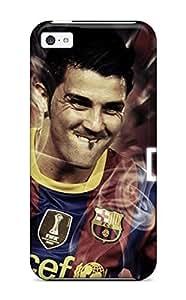 Special Design Back Barcelona David Villa Phone Case Cover For iPhone 4/4s