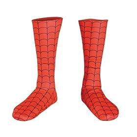 Kids Spiderman Costume Boot Covers 41HoQs7KSgL