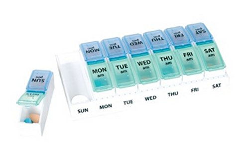 Ezy-Dose 7-Day AM/PM Travel Pill Container, ()