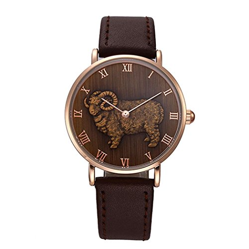 Men Watch, Woaills Sheep Patter Watches for Women on Sale Watch Repair - Perfect Face Men For Shape