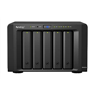 Synology DiskStation 5-Bay Network Attached Storage (NAS) with iSCSI/DS1513+ (DS1513+)
