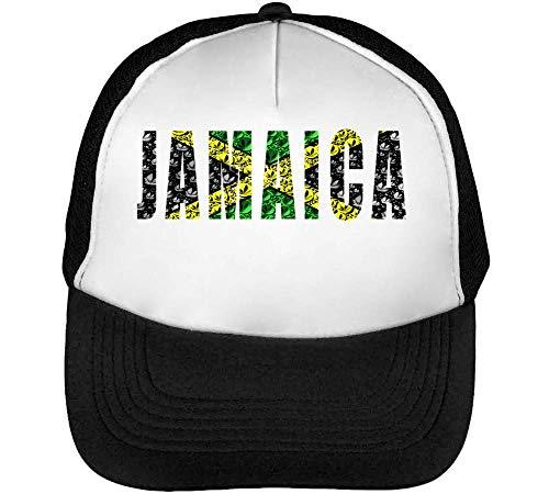 Bubble Beisbol Blanco Cannabis Hombre Jamaica Negro Gorras Fashioned Snapback qRzddyT