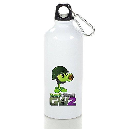 Pvz Garden Warfare 2 Cool Aluminum Sports Water Bottle - 400/500/600ML 500ml Birthday Sigg Water Bottle