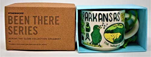 Starbucks Arkansas Mini Mug Ornament - Been There Series from Across The Globe Collection