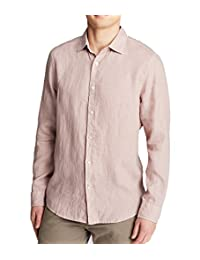 The Men's Store At Bloomingdale's Linen Shirt Color: Dusty Clay Size: XXL