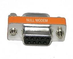Bargain Cable DB9 Female / DB9 Female Null Modem Mini Adapter