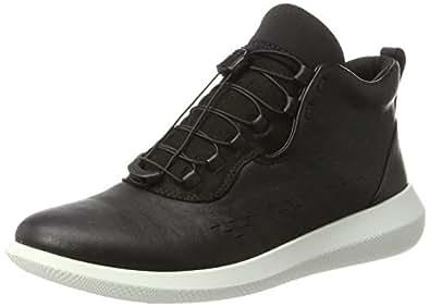 ECCO Women's SCINAPSE Boots, Black/Black, 35 EU